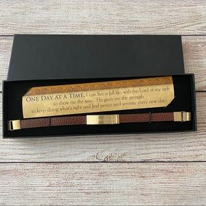 🆕 One Day At A Time Inspirational Bracelet